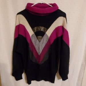 Vintage | 80s Geometric Sweater